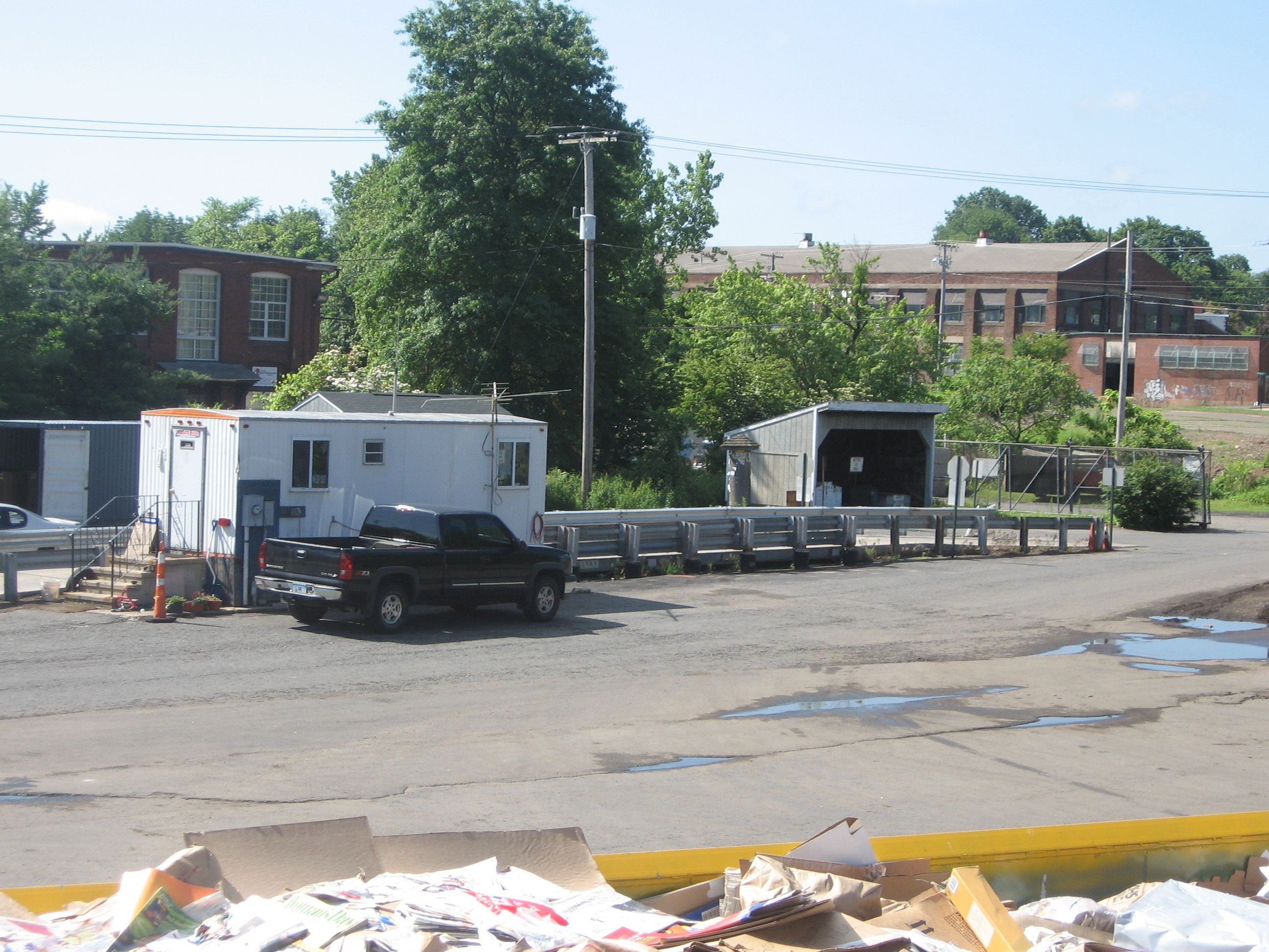 Recycling Center Trailer