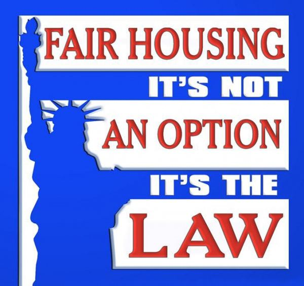 Fair Housing It's Not an Option It's the Law